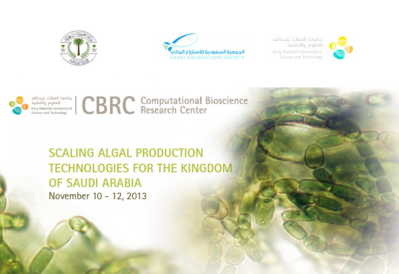 Participation with King Abdullah University in marine algae conference
