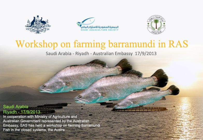 Workshop on farming Barramundi Fish in the closed systems