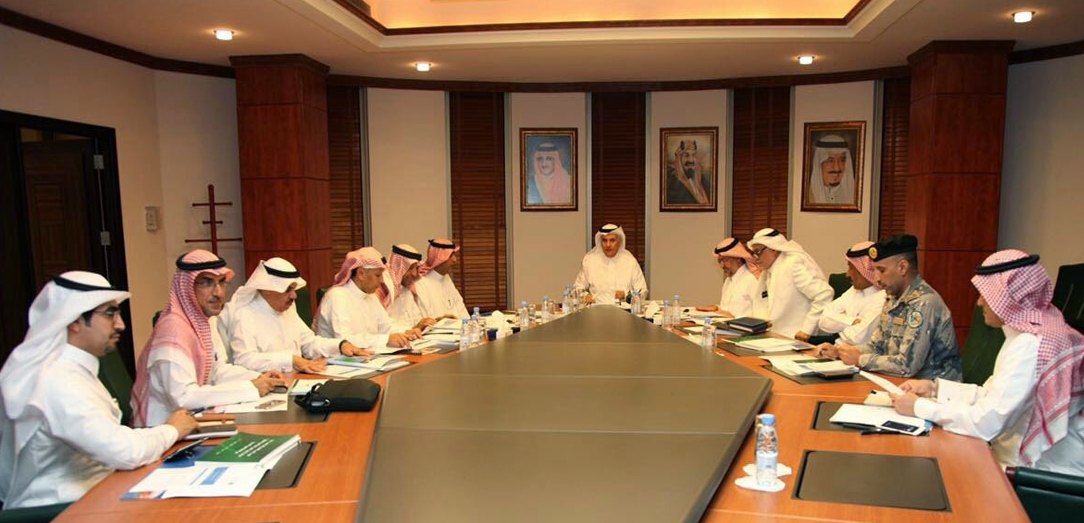 His Excellency the Minister of Environment and Water and Agriculture heads the first meeting of the fisheries development program