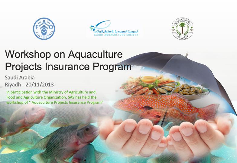 Workshop on Aquaculture Projects Insurance Program