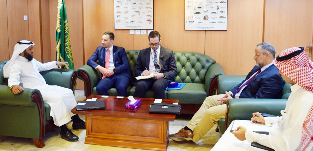 The Chief Executive Officer of the National Fisheries Development Program received the Ambassador of New Zealand